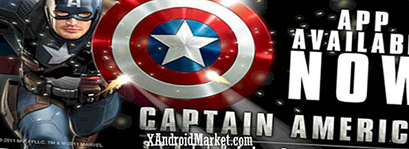 Marvel lance le jeu Android Captain America