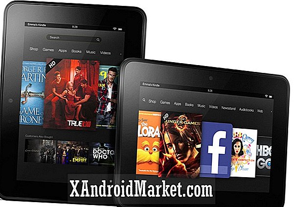 "Amazonas Kindle Fire HD och Kindle Fire HD 8,9 ""i Kanada"