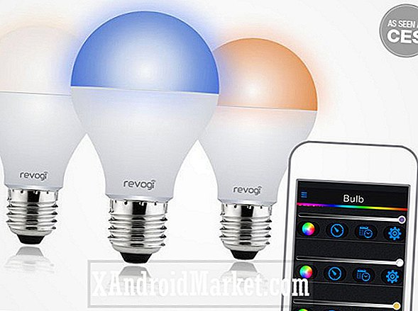 Deal: Revogi Smart Color Bluetooth LED-lampe for bare $ 34.99