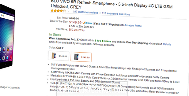 Deal: Amazon mid range BLU Vivo 5R for $ 149.99 (spar $ 50)