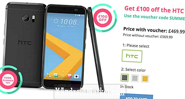 Deal: Spar £ 100 på en HTC 10