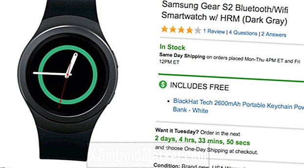 Deal: Spar over $ 100 på en Samsung Gear S2 for bare $ 159