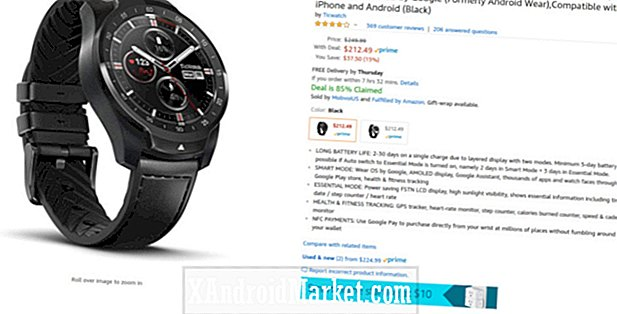 Tag TicWatch Pro til $ 212 ($ 38 off) med en gratis TicBand fra Amazon
