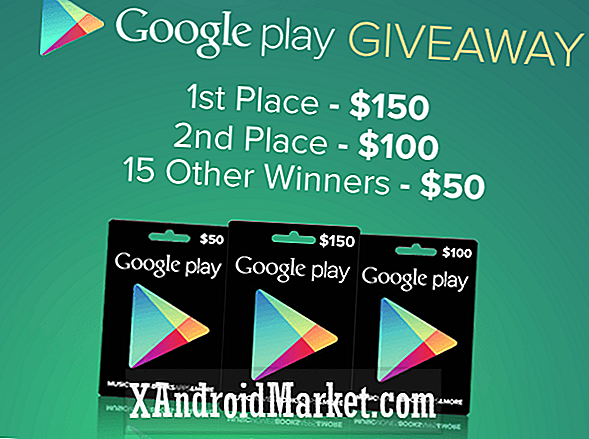 Dernière chance de participer au Google Play Giveaway