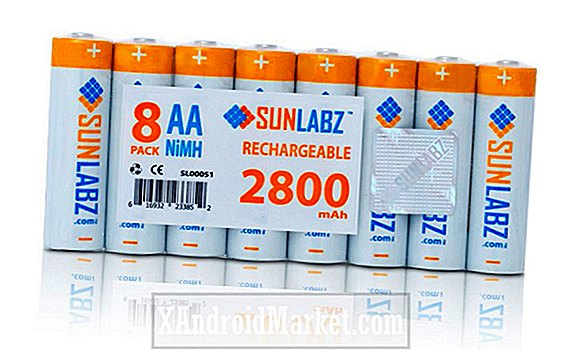 Deal: Ta med åtte SunLabz 2800mAh AA oppladbare batterier og smart lader for bare $ 30