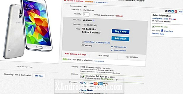 Deal: Nyt, Samsung Galaxy S5 for kun $ 350