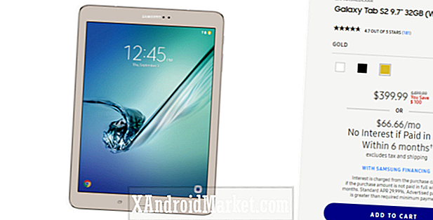 Deal: Samsung Galaxy Tab S2 kan nu være din for $ 399.99 ($ ​​100 off)