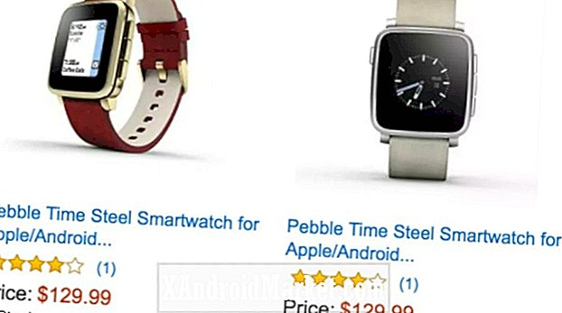 Deal: Spar $ 120 på Pebble Time Steel smartwatches, kun $ 129,99 (refurb)