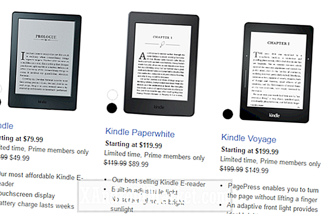 Prime deal: Amazon tager op $ 50 off Kindle e-readers
