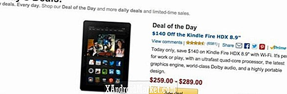 "Amazon Deal of the Day: Kindle Fire HDX 8,9 ""Tablet for $ 259 (35% avslag)"