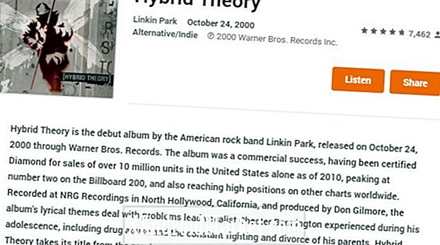 Deal: Obtenez l'album de Hybrid Theory de Linkin Park gratuitement sur Google Play