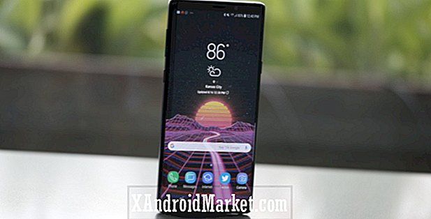 Samsung Galaxy Note 9 for kun $ 675