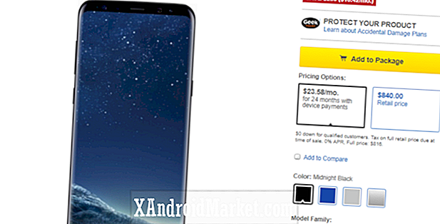 Deal: Spar op til $ 250 på Galaxy S8, S8 Plus og Note 8