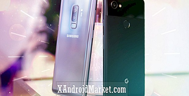 Samsung Galaxy S9 + vs Pixel 2 XL: hurtig look