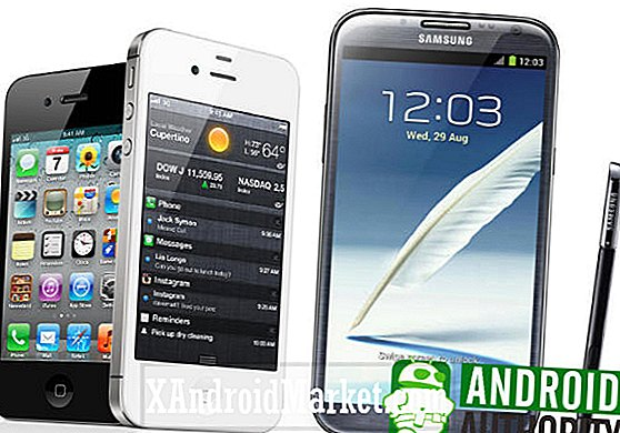 Apple iPhone 4S Vs Samsung Galaxy Note 2