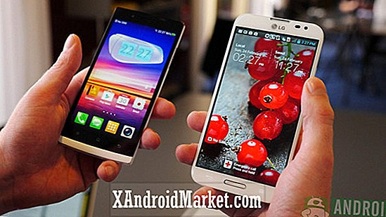 LG Optimus G Pro vs Oppo Find 5