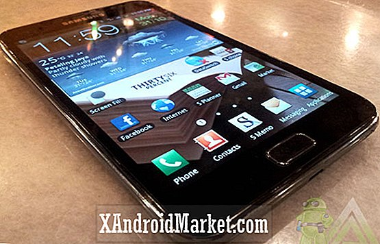 Samsung Galaxy Note First Impressions