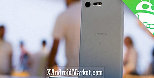 Sony Xperia X Compact håndterer anmeldelsen
