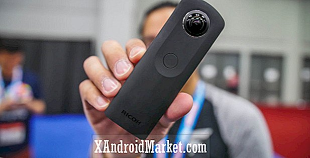 Ricoh Theta S 360 camera hands-on op SXSW 2016