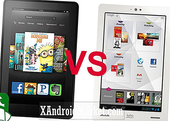 Amazon nuevo Kindle Fire vs. Kobo Arc