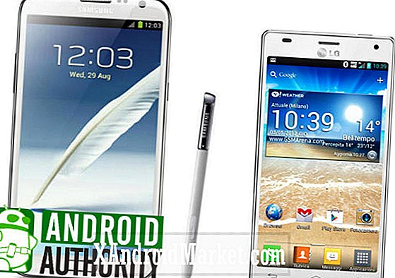Samsung Galaxy Note 2 vs LG Optimus 4X HD [video]
