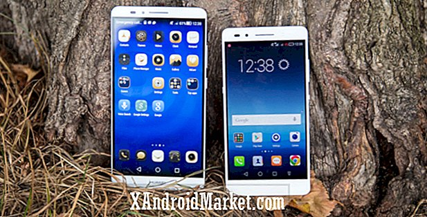 Huawei Honor 7 vs Ascend Mate 7
