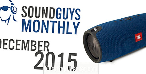 Sound Guys Monthly - December 2015 - JBL Xtreme Giveaway