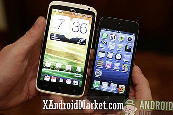HTC One X vs iPhone 5 - video sammenligning