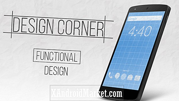 Android Design Corner: Design fonctionnel