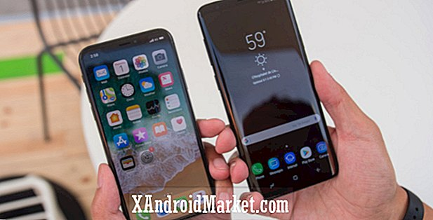 Samsung Galaxy S9 vs Apple iPhone X