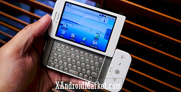 Android wordt 10: onthoud de eerste Android-telefoon, de T-Mobile G1 / HTC Dream