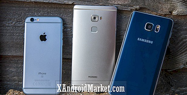 Vingerafdrukgevecht: Galaxy Note 5 versus Mate S vs iPhone 6S