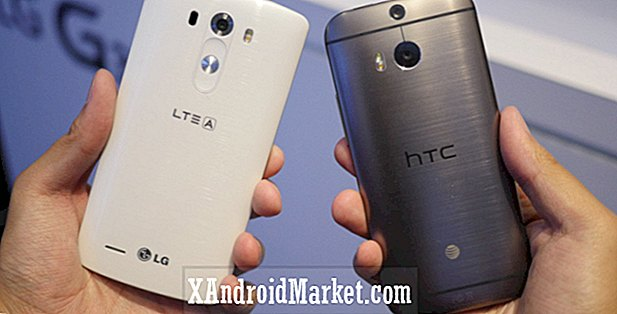 LG G3 vs.  HTC One M8: comment se comparent-ils?