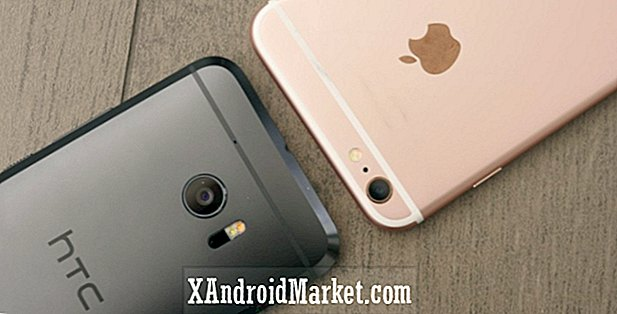 HTC 10 vs Apple iPhone 6s / Plus rask utseende