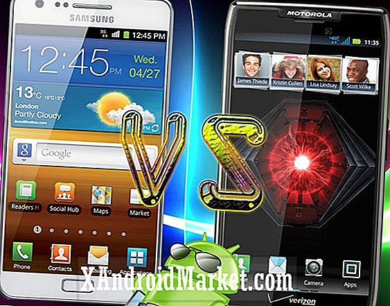 Samsung Galaxy S3 vs Motorola Droid Fighter - Omega Superphone Smackdown