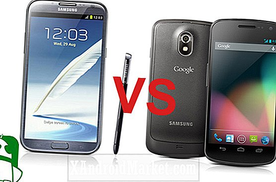 Samsung Galaxy Note 2 VS Galaxy Nexus