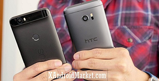 HTC 10 vs Google Nexus 6P coup d'oeil