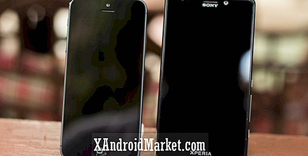 Apple iPhone 5 vs Sony Xperia T