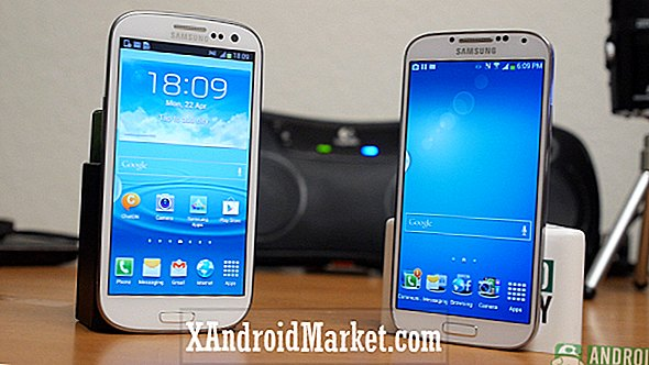 Galaxy S4 vs Galaxy S3: Samsungs fortid og nutid (video)