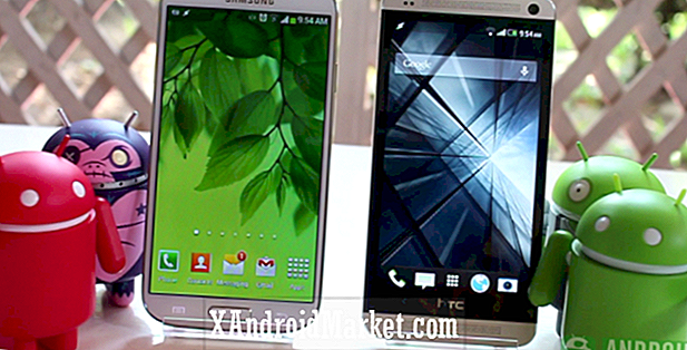Galaxy S4 vs HTC One - Display Sammenligning