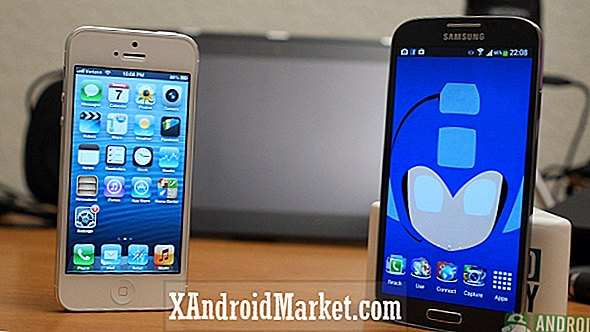 Galaxy S4 vs iPhone 5: batalla de los ídolos (video)