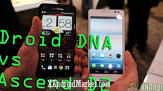 HTC Droid DNA vs Ascend D2