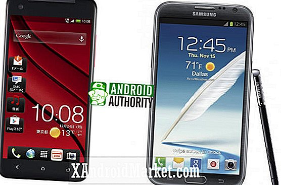Samsung Galaxy Note 2 vs HTC J Butterfly (DLX / DROID DNA)