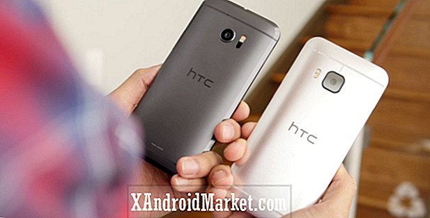 HTC 10 vs HTC One M9 coup d'oeil