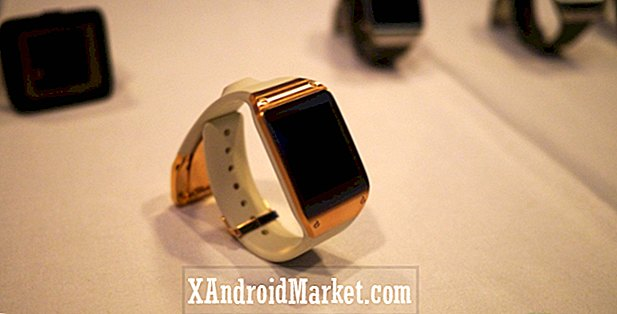 Galaxy Gear Vs.  Guijarro vs.  Reloj inteligente de Sony