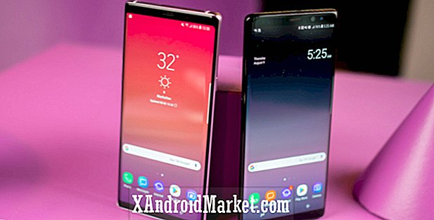 Samsung Galaxy Note 9 contre la concurrence