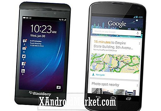 Blackberry Z10 vs le meilleur d'Android