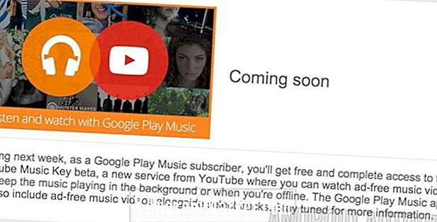 YouTube Music Key beta kan give de første dibs til abonnenter fra Google Play All Access