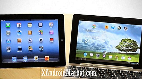 Asus Transformer Pad Infinity 700 vs Apple iPad (3. gen) - Slaget ved High Resolution Tablets
