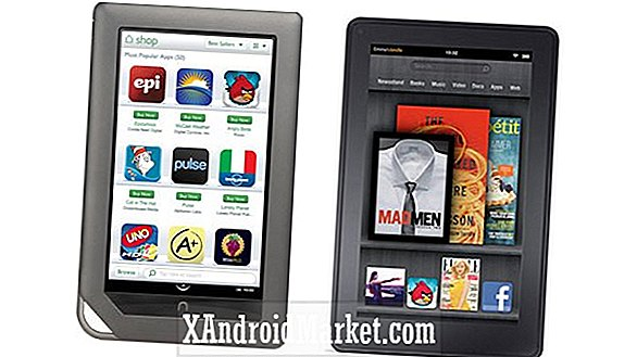 Nook Tablet vs Kindle Fire: Tøft valg!